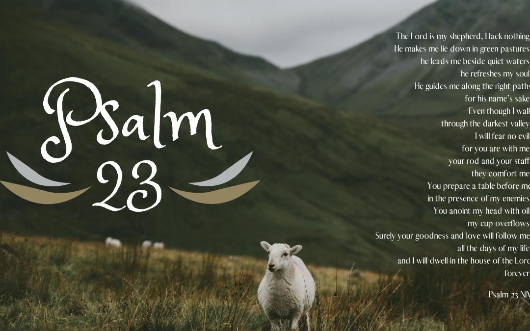Psalm 23 series Desktop Wallpaper