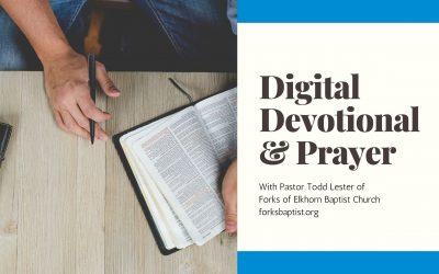 Digital Devotional & Prayer