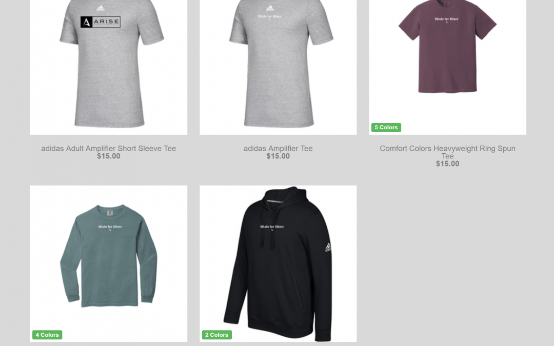 Student Apparel Store