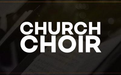 Choir on Sundays at 10am