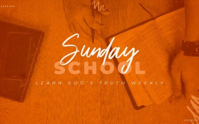 In-Person Sunday School Starts Back June 13