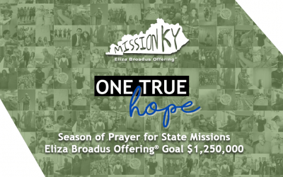 Eliza Broadus Offering & Week of Prayer for State Missions